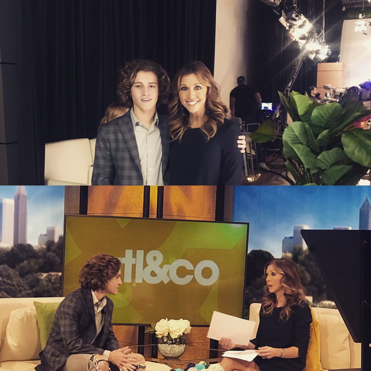 Thank you @atlandco @cdpullara Great talking with you about my role on @BerlinStation #season2 #kirschcub<br>http://pic.twitter.com/kdkwe4w7n9 &ndash; à Atlanta &amp; Company Studio