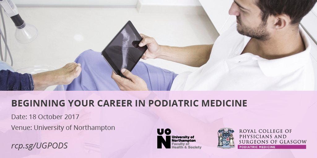 Still spaces available at our #undergrad event in Northampton on Wed  http:// rcp.sg/PodMedUnders  &nbsp;   #ichoosepodiatry @Profdocash @DrSarahCurran<br>http://pic.twitter.com/jRfoowQcJk