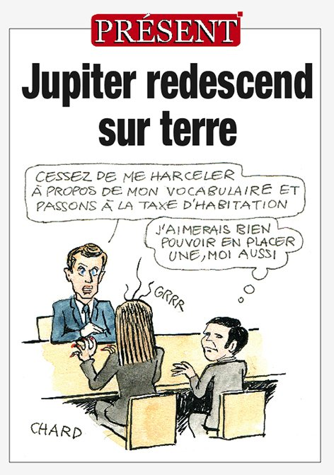 Jupiter redescend sur terre ! #Macron #MacronTF1    https:// present.fr/2017/10/16/jup iter-redescend-terre/ &nbsp; … <br>http://pic.twitter.com/V0U7vAJa9F