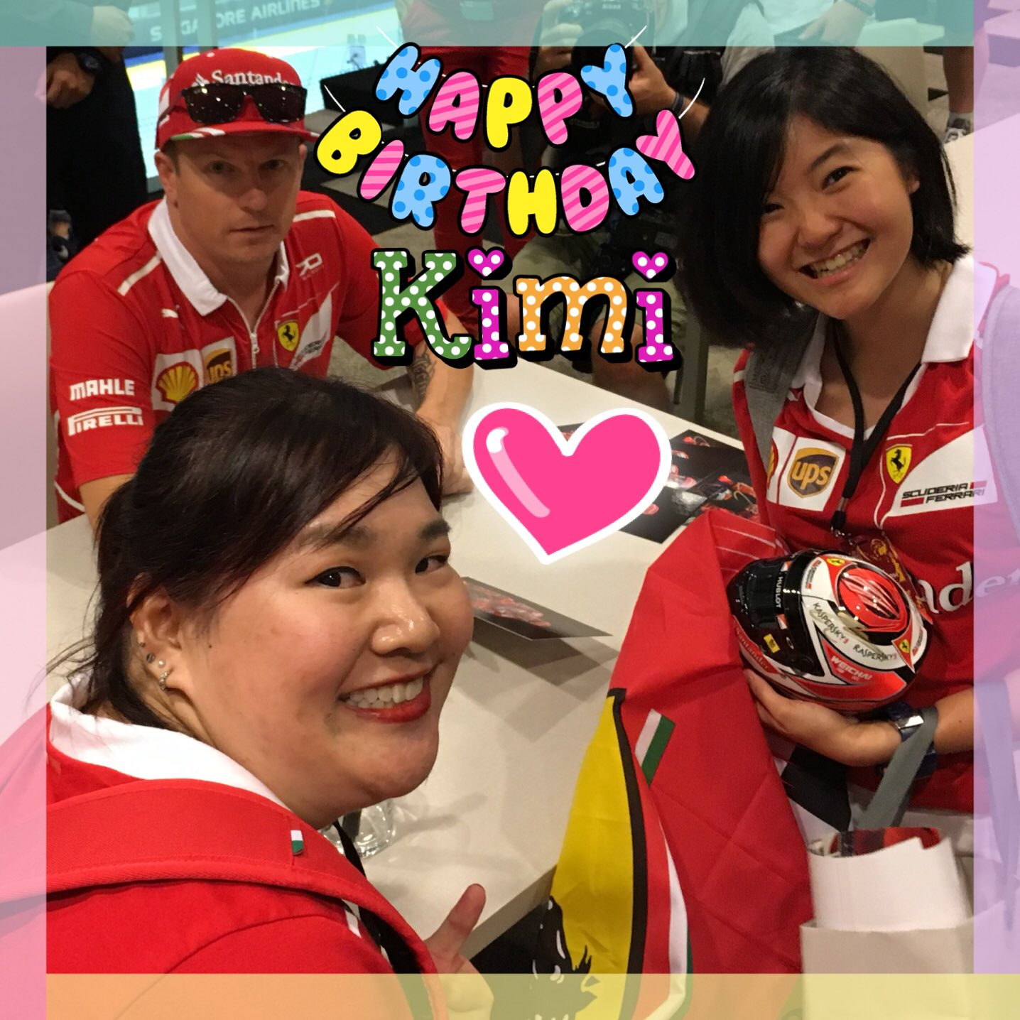 Happy Birthday Kimi Raikkonen! Our favorite Iceman!