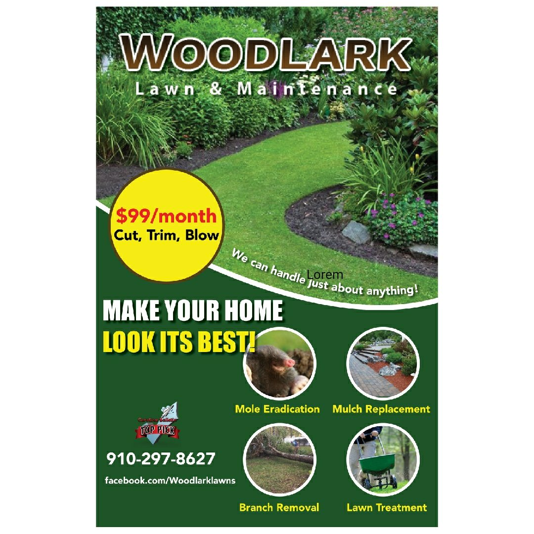 Need to get rid of fallen trees or make it more green? Woodlark Lawn &amp; Maintenance Call 910-297-8627. #MyrtleBeach #SC #yard #garden #lawn<br>http://pic.twitter.com/mmv0xnD9q0