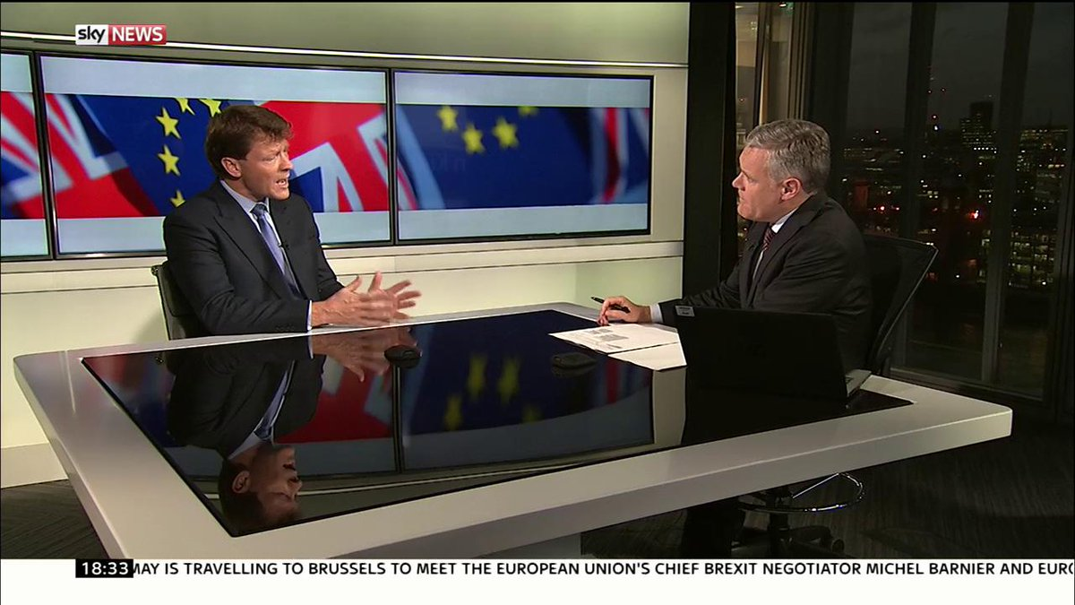 Brexit talks @TiceRichard, co-chair of @LeaveMnsLeave says PM must be prepared to leave #Brexit talks within weeks https://t.co/YYyp4P0m9A