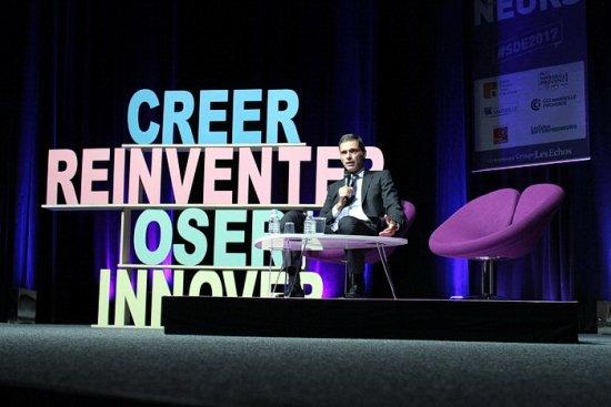 #SDE2017 de #Marseille : Rodolphe Saadé (@cmacgm ) annonce la création d'un incubateur de #startups http://bit.ly/2yN1Tdc  - FestivalFocus