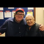 With the great Vanessa Redgrave on stage during my Broadway show.