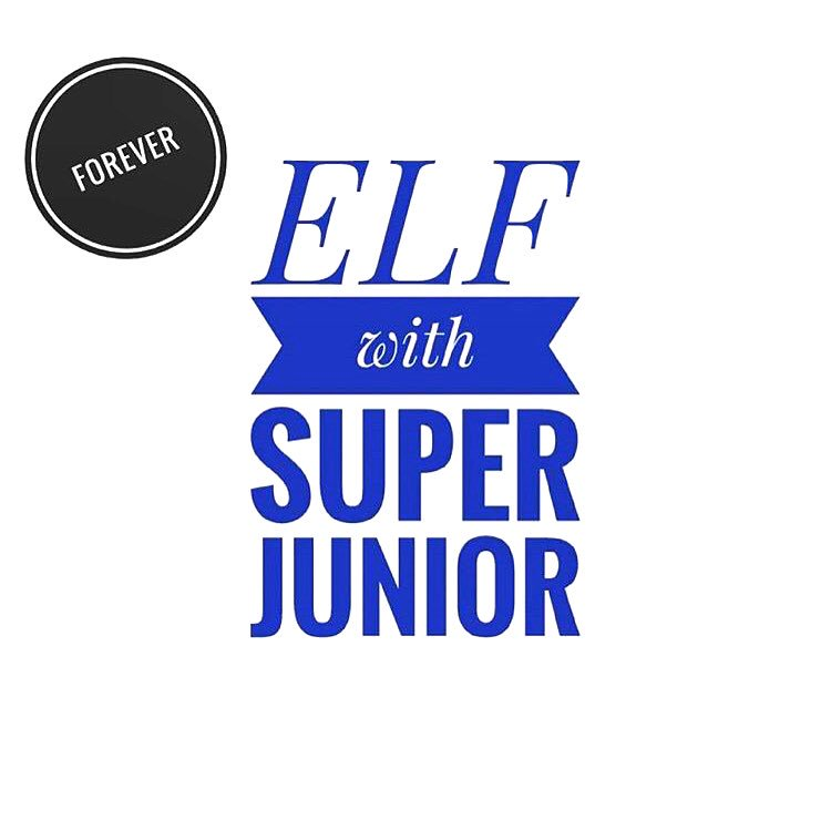ELF with Superjunior #forever 💙 #goodnight