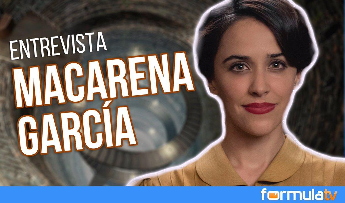 Macarena García: 'No siento que sustituya a Aura Garrido en #MdTVerben...