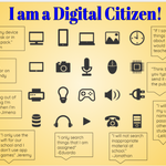 Digital Citizenship kicked off in our classroom with students quoted on how they are good digital citizens. #DigCitWeek @Mann_Elementary