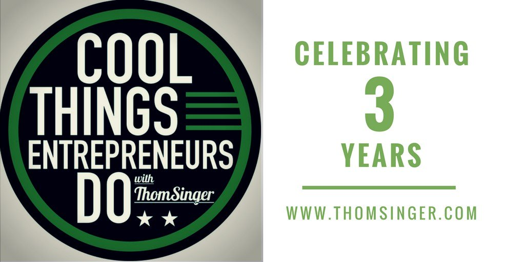 3 years and almost 300 episodes of this #podcast.  http:// traffic.libsyn.com/coolthings/CTE D_293.mp3 &nbsp; …  #solopreneurs #startups #biztips #startup #founder #owner<br>http://pic.twitter.com/lKNtBqxxBn