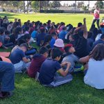 #Palmlane Fourth and fifth graders learning about Disaster Preparedness from @RedCross