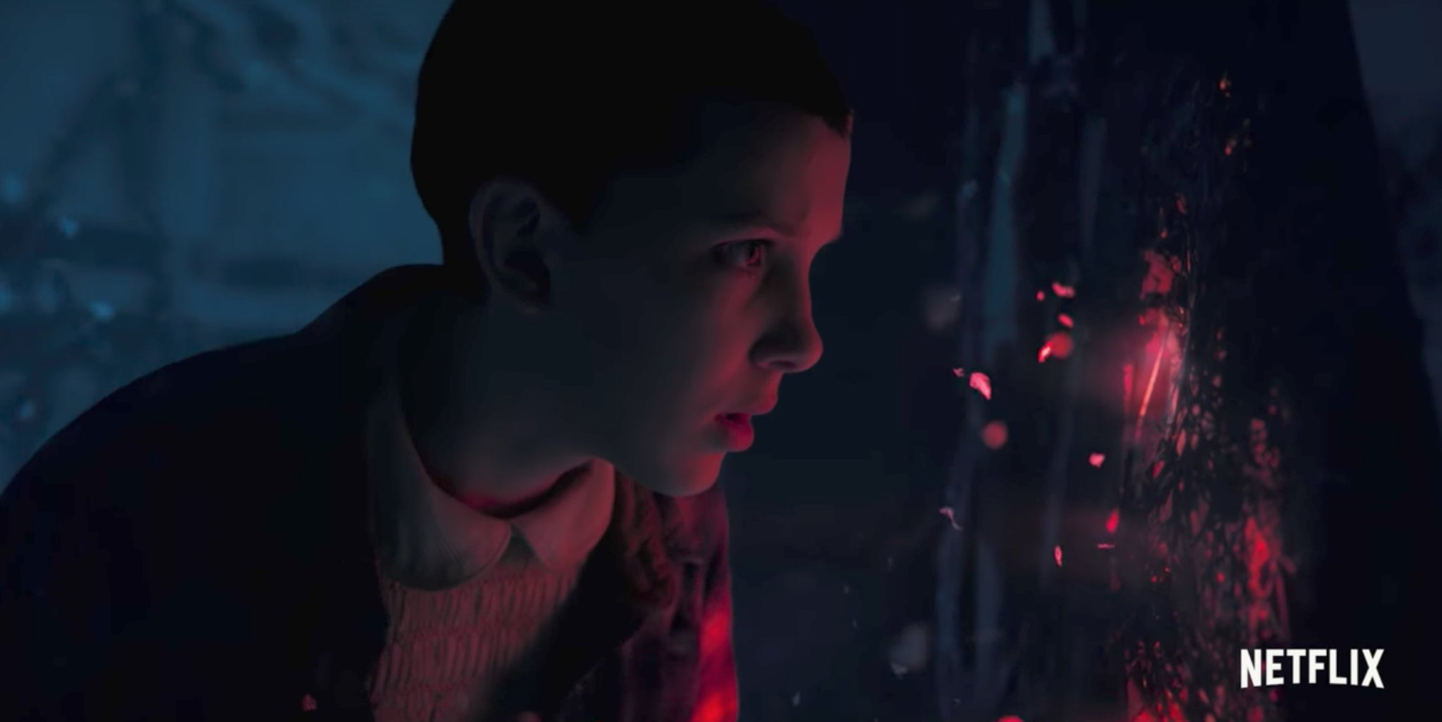 This new, graphic 'Stranger Things 2' clip shows how Eleven escaped the Upside Down: https://t.co/rGzwHovDTk https://t.co/jA7LsU7Csc