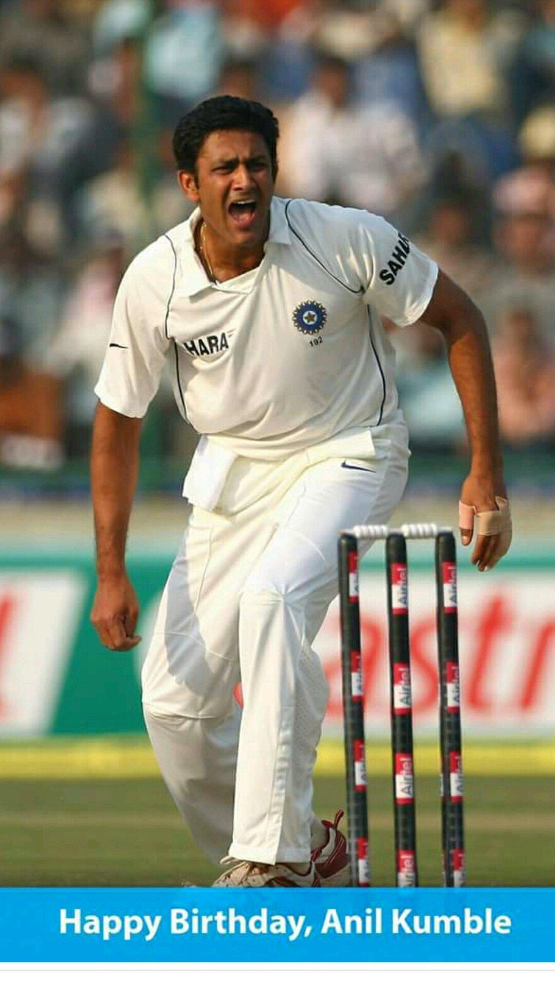 Happy birthday..Anil Kumble sir
