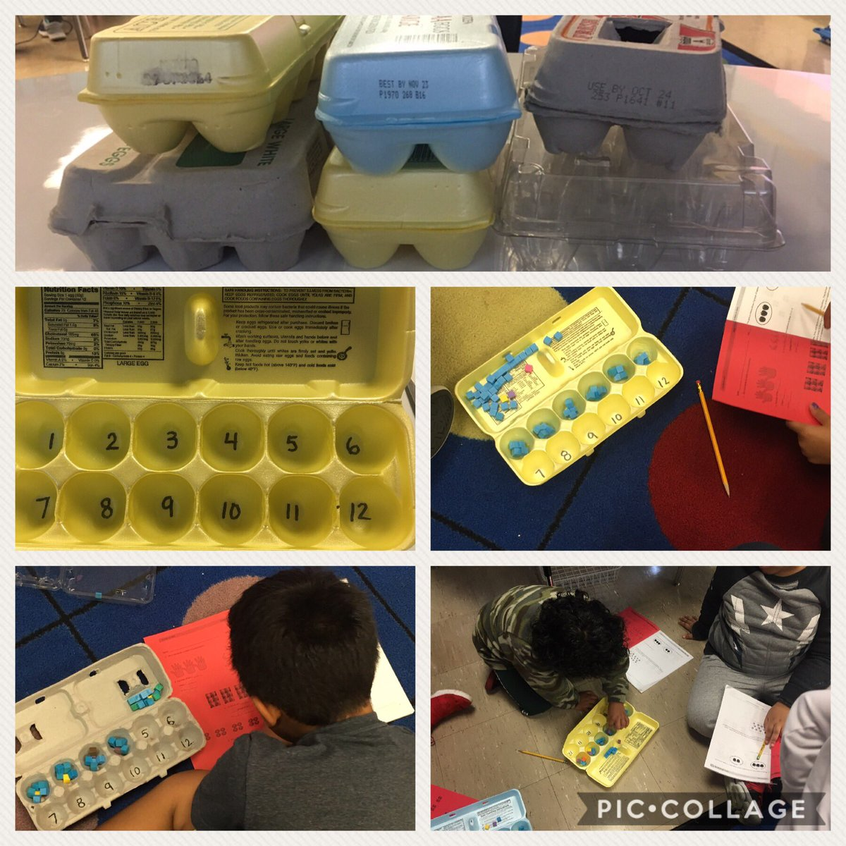#multiplication is the #number of groups times the number in each group. Egg cartons are a perfect tool for this! @ConnorCougars @SuffernCSD<br>http://pic.twitter.com/BOvG0vVkRx