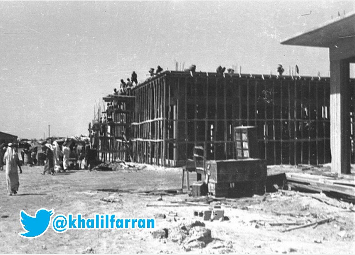صور نادرة توثق بداية البناء والتعمير في...