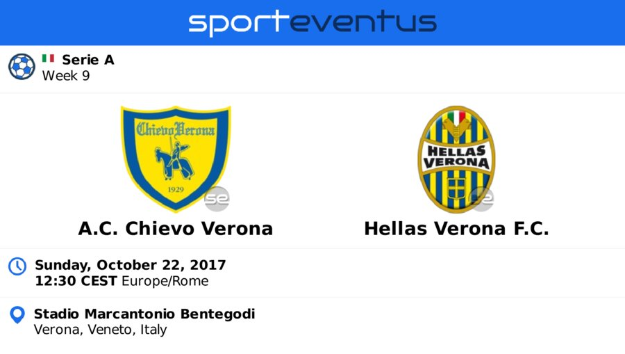 Check out #acchievoverona  #HellasVeronaFC  October 22nd 12:30 CEST  #SerieA_TIM   Buy #tickets in-app   http:// sportevent.us/twev218781  &nbsp;  <br>http://pic.twitter.com/WkXPd3NapT