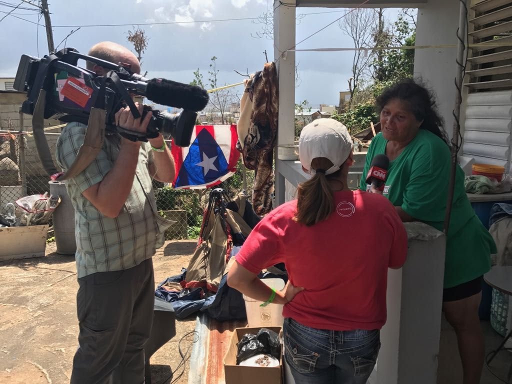 test Twitter Media - .@mariasantanacnn '98 Reports from #PuertoRico: Desperate Shortages, Little Relief https://t.co/gtf0GihW7Y #HurricaneMaria https://t.co/DuBPs3TMI3