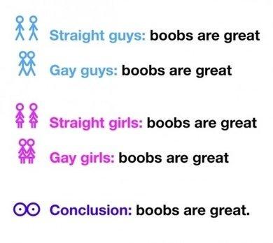 why do people like boobs