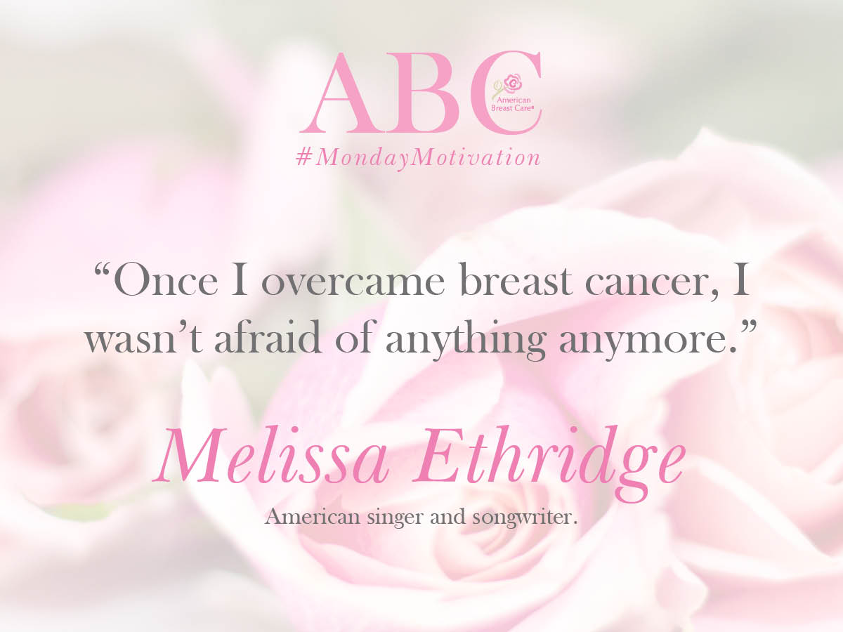 Today&#39;s #MondayMotivation comes from American song-writer, #MelissaEthridge, to remind us to always walk in power! #BreastCancerSurvivor <br>http://pic.twitter.com/HHIxCcZOwo