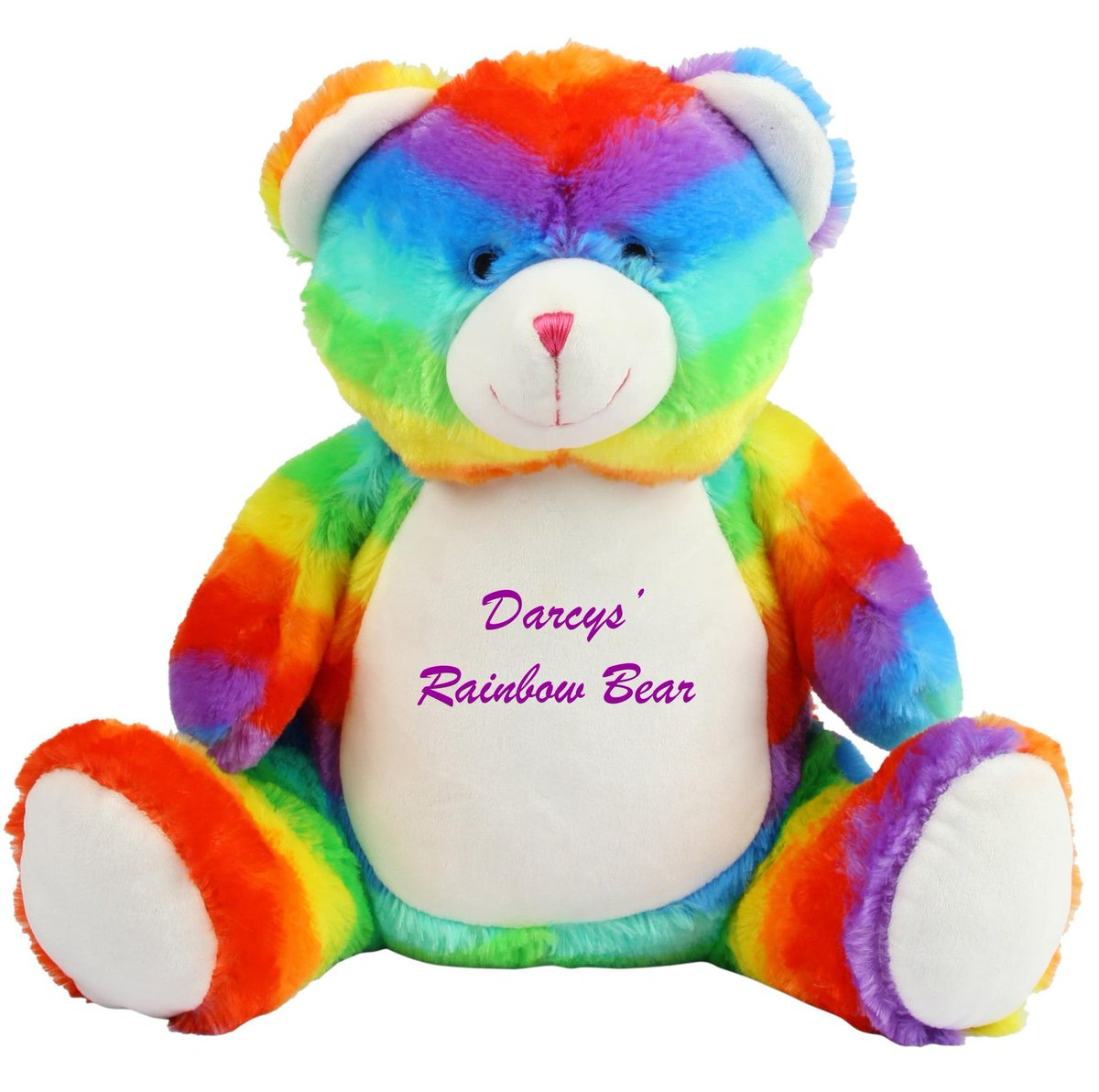 #WIN one of new #personalised rainbow #bear soft toys  Simply RT + F to enter   https:// buff.ly/2gIkFrJ  &nbsp;    #giveaway #prize #competition #comp<br>http://pic.twitter.com/OeHVblNz5B