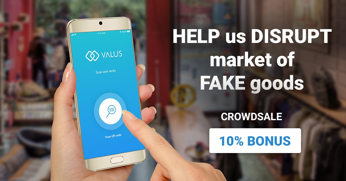 Till the end of the week -&gt; 10% OFF! In the beginig of the #valus crowdsale we had some problems but now we are #perfectly running.<br>http://pic.twitter.com/AwXO4hKDRX
