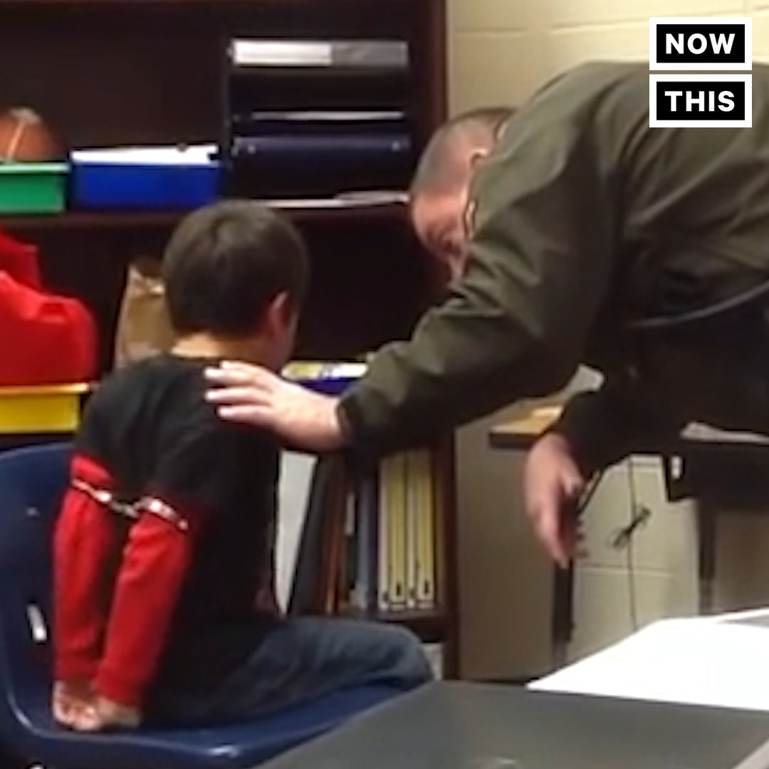 VIDEO: Police in Kentucky handcuffed and arrested a *third grader* wit...