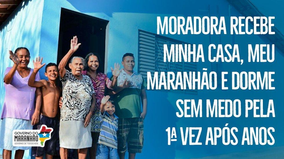 Dona Hosana da Conceição, moradora de Água Doce do Maranhão, passou muitos anos sem dormir com medo do teto cair  https://t.co/44WevSZyxP