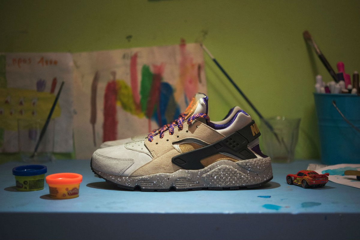 3bccedb6c2f9 these nike air huaraches in an acg inspired colorway will look even better  when you beat