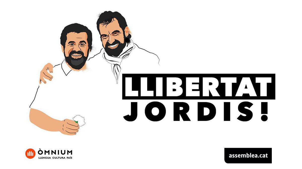 Llibertat Jordi Sánchez i Jordi Cuixart