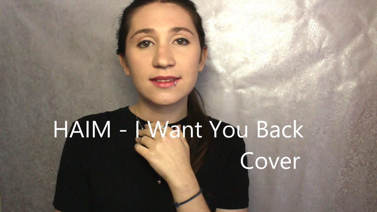 HAIM cover today ^^ I want you back #vocalcover #haim  https:// youtu.be/_0d3DfKRTWs  &nbsp;  <br>http://pic.twitter.com/ZTXDtOnDJJ
