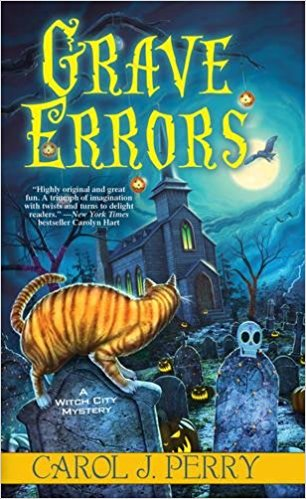 Groan Do Cozy Mysteries Really Need a Pun?  #review Grave Errors  http:// ow.ly/SZkQ30fTAM2  &nbsp;    #cozymystery #Magic  #amreading<br>http://pic.twitter.com/8Br7Oa5Y2i