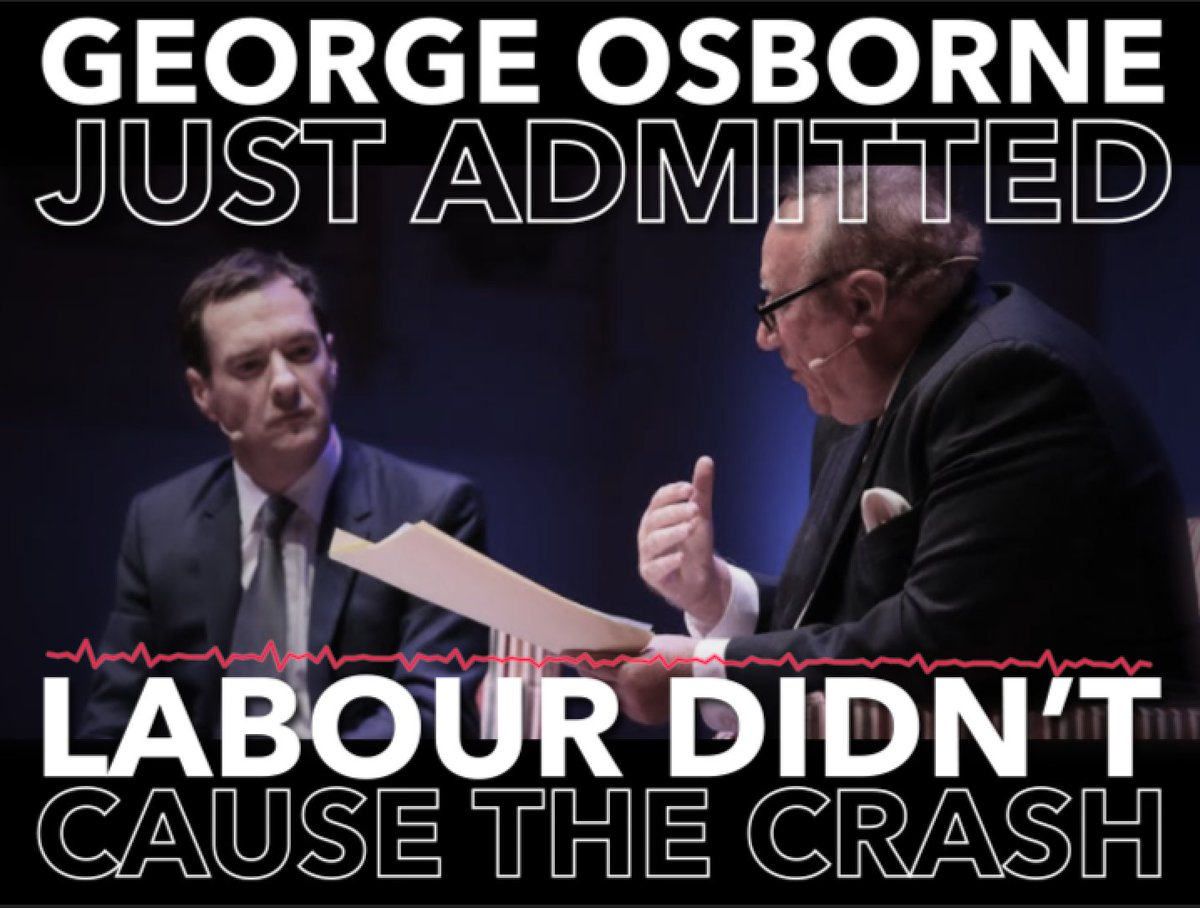I wish I didnt have to keep rolling this video out, but every time a Tory Chancellor lies about Labour crashing the economy, it has to be done. #SpringStatement
