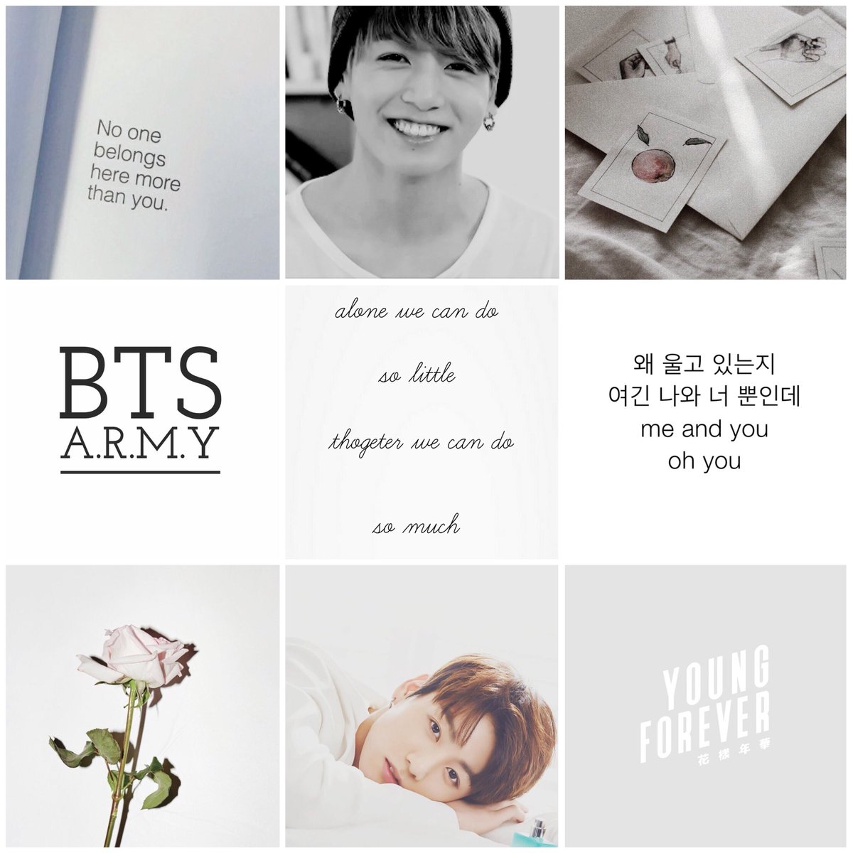 Sofija On Twitter Jungkook Bts Aesthetic Wallpaper White
