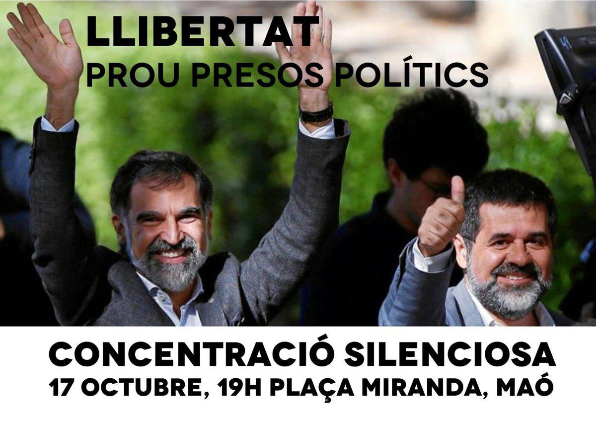 Llibertat. Prou presos polítics. Concent...