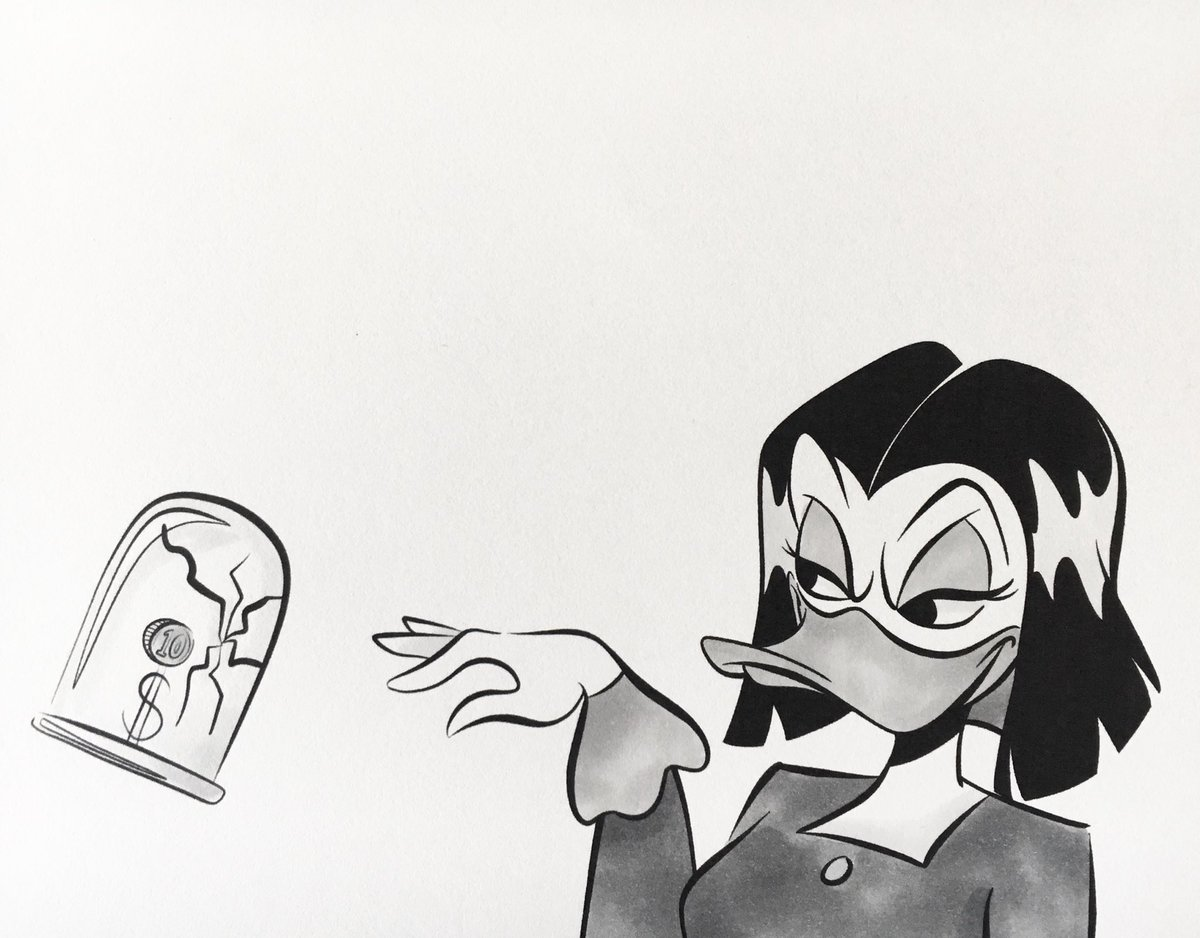 #Inktober Day 12: #Shattered  Who knew it was this easy? #inktober217 #dainktober2017 #magicadespell #ducktales <br>http://pic.twitter.com/y1jFNo6YLP