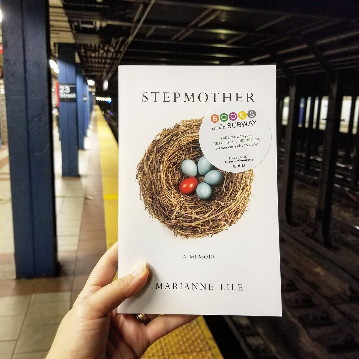 Books On The Subway On Twitter Being A Stepmom Is A Hard Role To