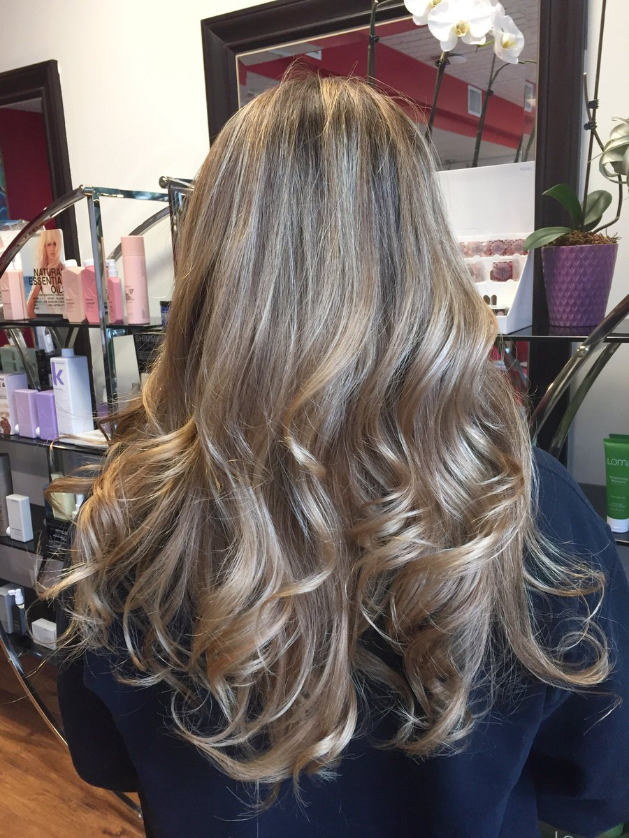 Tsala Salon Spa On Twitter Check Out Teelas Hair Hand Painted