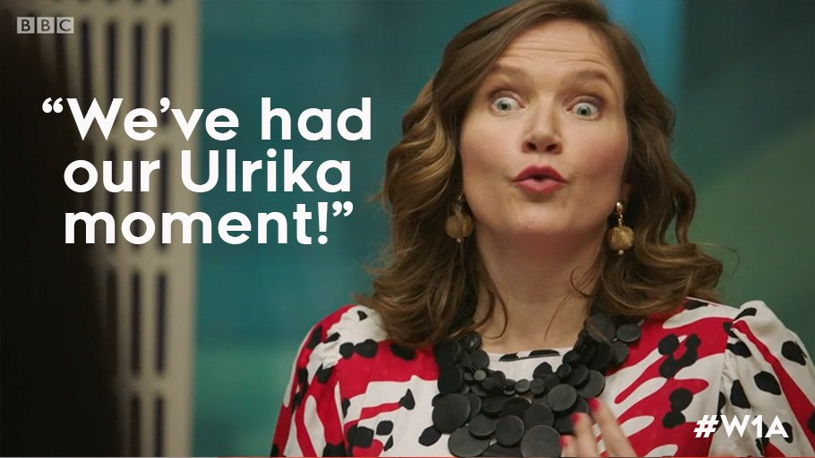When you're killing it in the afternoon brainstorm. #W1A https://t.co/w2PhjwSe5Q