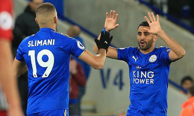 Leicester 1-1 West Brom: Riyad Mahrez comes to the rescue