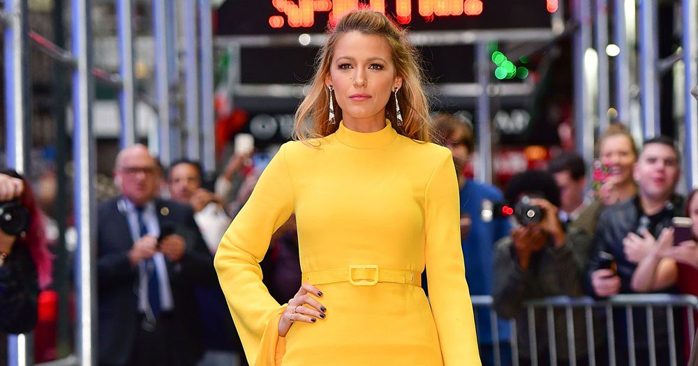 Of course Blake Lively pulled off four outfit changes in one day: https://t.co/3Dj3wE8WDA https://t.co/w5YfcwYTSG
