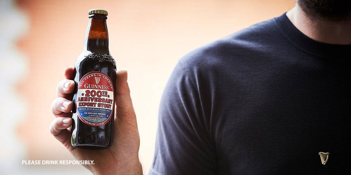 200 years ago we sent our first barrels of beer to America, and now we're sending you some more. #Guinness #Anniversary<br>http://pic.twitter.com/stKKHCXIob