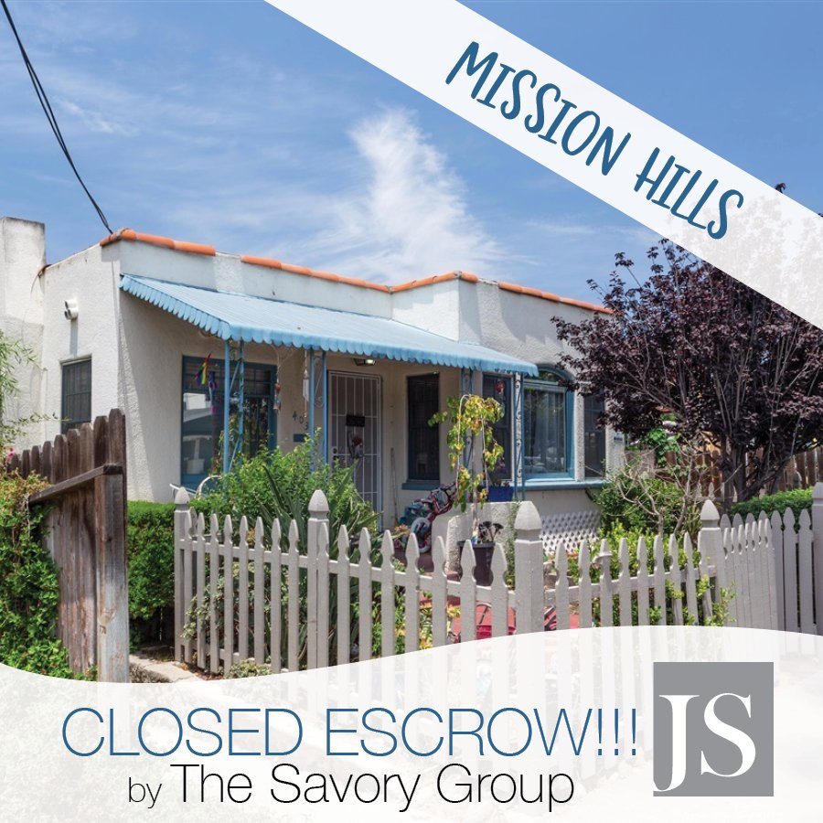 {S O L D} #thesavorygroup just closed escrow on this charming Mission Hills multi family property!  #staytuned #sold #missionhills #spanish<br>http://pic.twitter.com/iW2zSpXmud