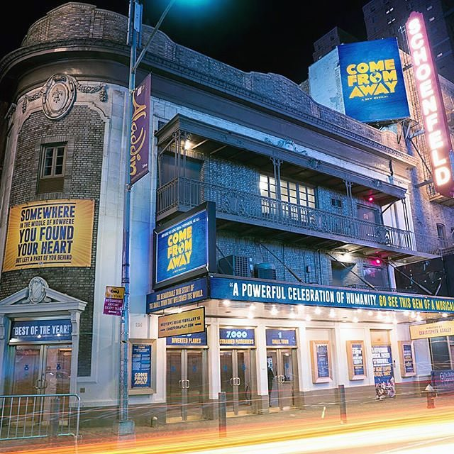 Book a Placer to guarantee cheap, last-minute #tickets to one of the best shows on #broadway ... @wecomefromaway! #NYC #linesitters<br>http://pic.twitter.com/vIaq1Upi85