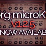 (Korg microKxR Editor & Librarian for Korg microKorg updated to v1.2.5) has been published on https://t.co/FFFD6Tnao5