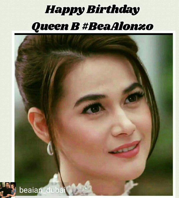 Happy birthday Bea Alonzo my one and only idol..