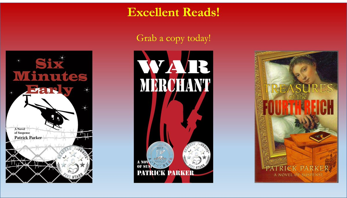 Great reads! Check 'em out. Amazon page:  http:// amzn.to/1izsnBH  &nbsp;   Author Webpage:  http:// bit.ly/1ZEoYGu  &nbsp;   #suspense #GoodReads @authorsdb<br>http://pic.twitter.com/68Gcet1wSy