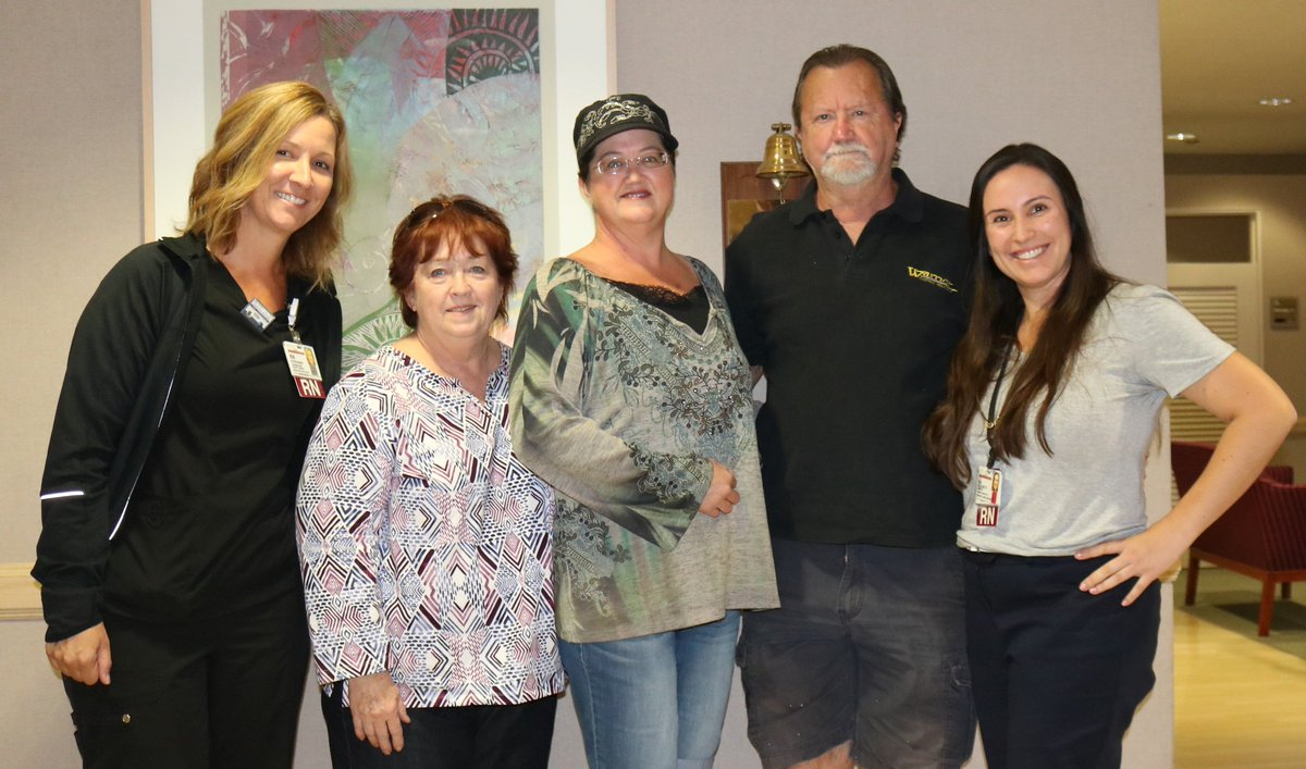 Brandi Heeley, 43, completed #breastcancer treatment today at The Robert &amp; Beverly Lewis Family Cancer Care Center! #breastcancersurvivor <br>http://pic.twitter.com/YbUFAhSj1I