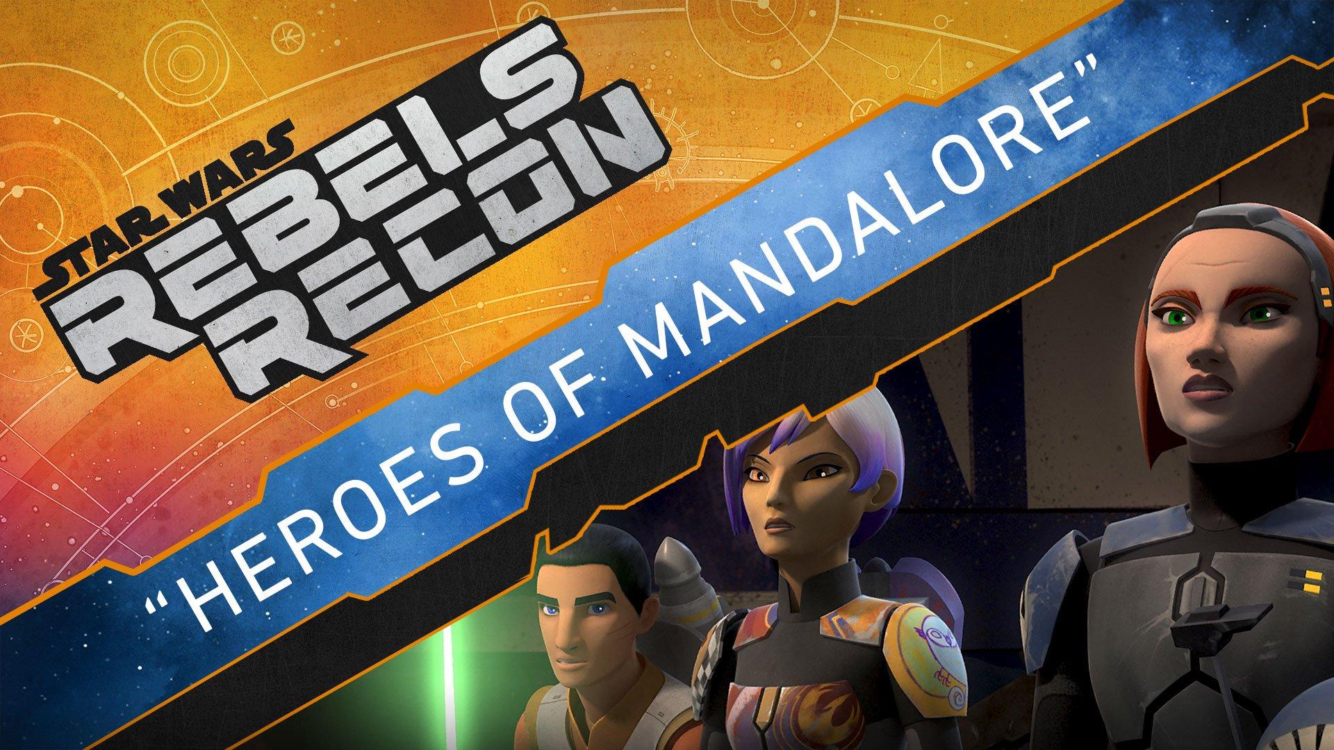 "#RebelsRecon takes a deep dive into ""Heroes of Mandalore."" #StarWarsRebels https://t.co/fqtLAJ5ROt"