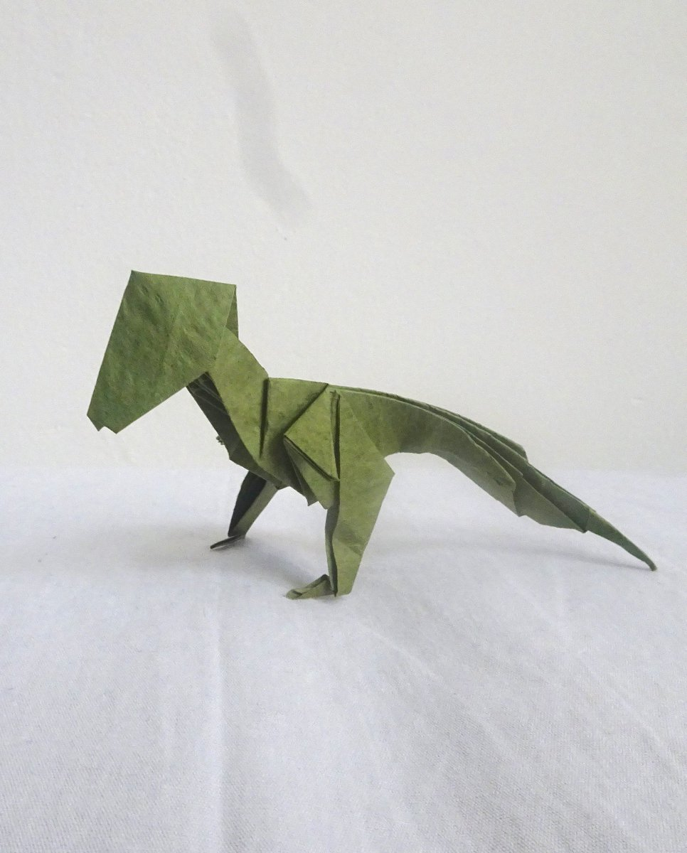 Anh Dao Origami Paper Ori Twitter Dinosaur Diagrams 0 Replies Retweets 3 Likes
