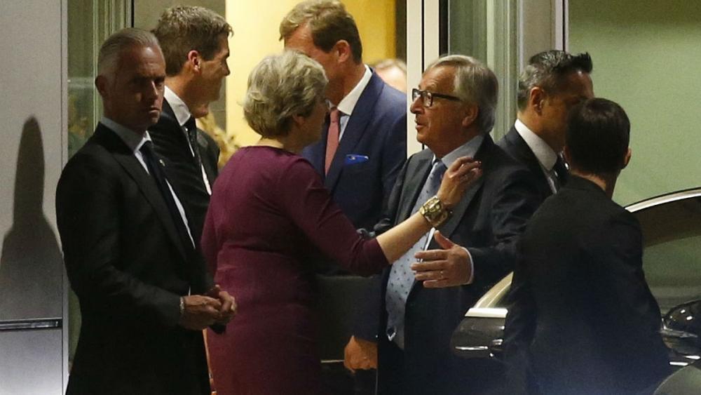 Theresa May's 'dinner diplomacy' https://t.co/qvTFPWXWRq