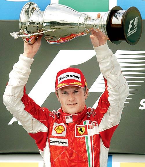 Happy 38th birthday to 2007 Champion Kimi Raikkonen