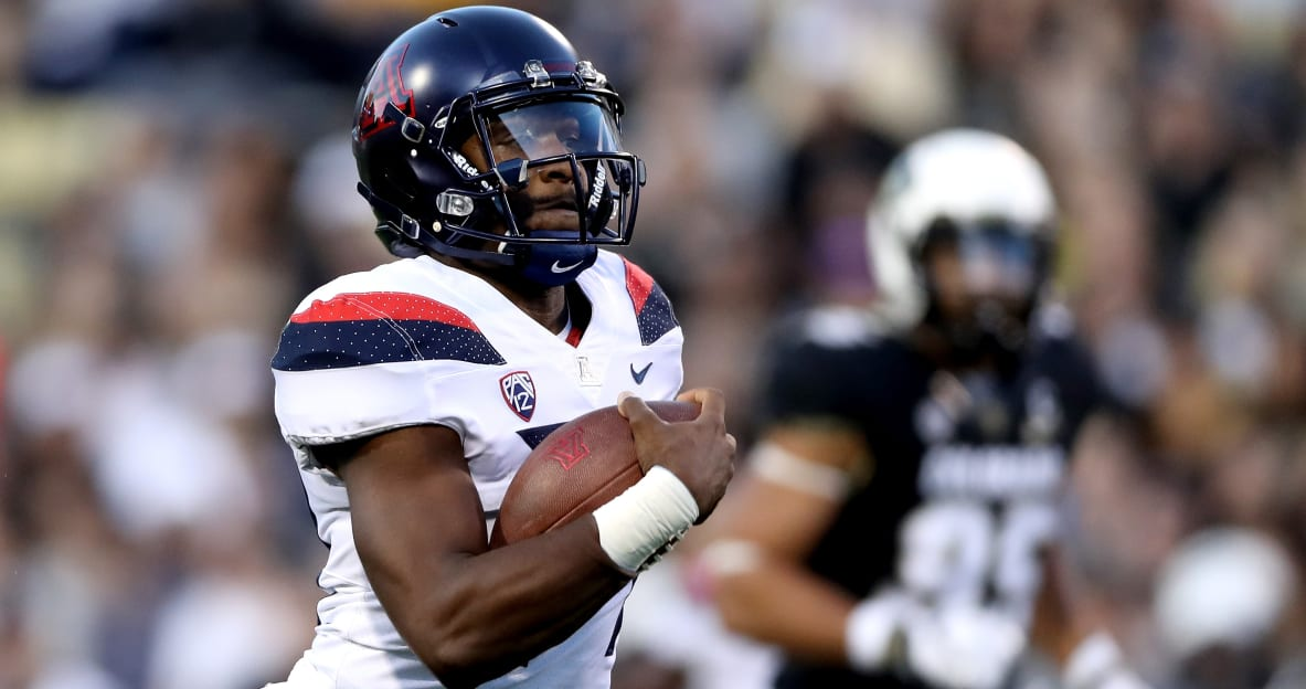 Arizona's Khalil Tate named Pac-12 Offensive Player of the Week for second consecutive week https://t.co/AdCWnBwT5n